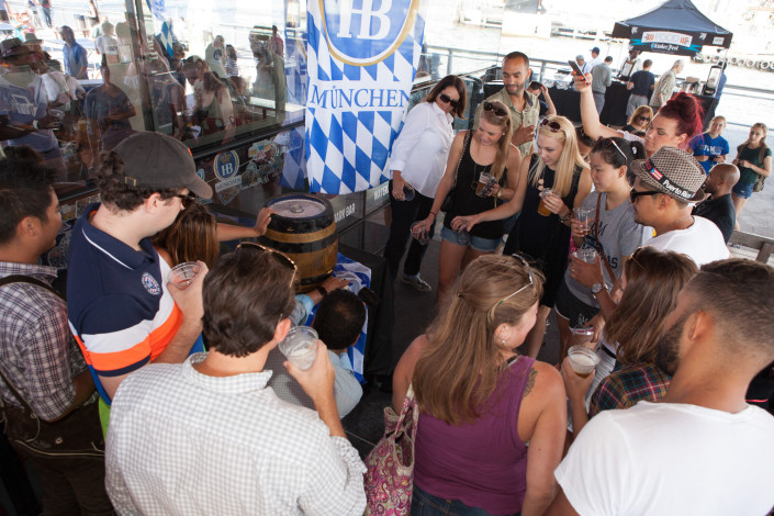 OktoberFest NYC Ceremonial Keg