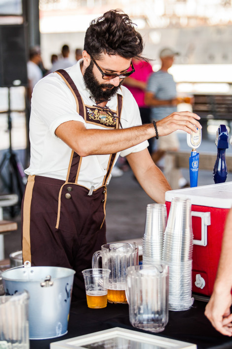 OktoberFest NYC at Watermark 2015