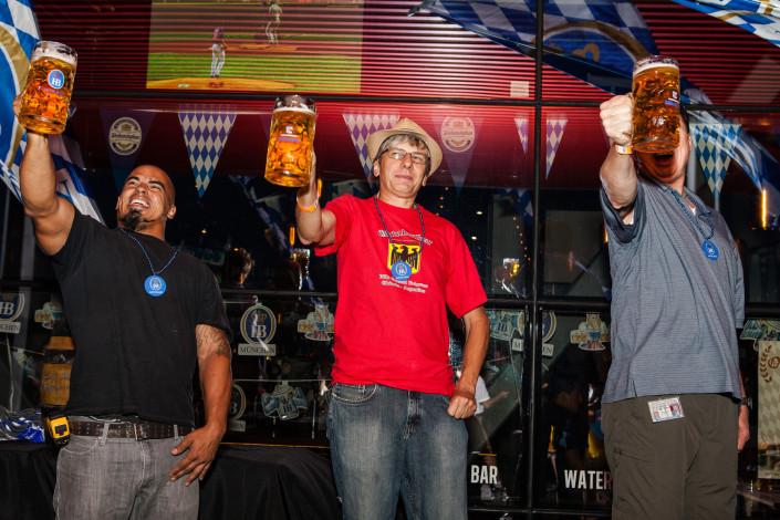 OktoberFest NYC at Watermark 2015 - Beer