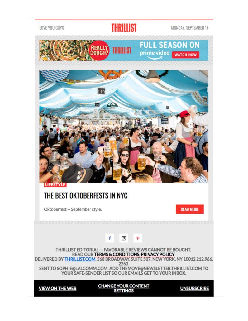 Thrillist - The Best Oktoberfests in NYC
