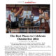The Daily Meal - The Best Places to Celebrate Octoberfest 2016
