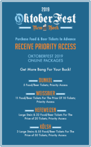 OktoberFest 2019 NYC at Watermark Ticket Packages